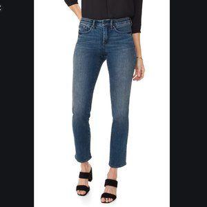 NYDJ Marilyn Straight-leg Uplift Jeans - Size 10